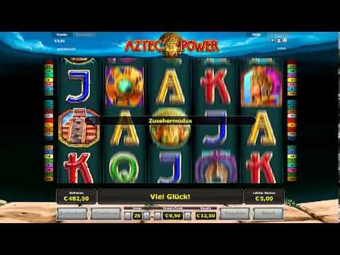 Aztec Power! 12,50 Euro Einsatz! Nur Online! Wahnsinnsgewinn!