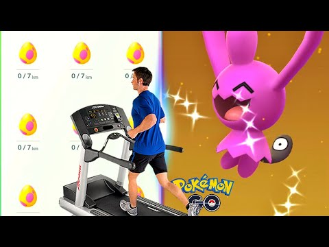 How Fast Can You Hatch 9 Eggs On A Treadmill? Pokemon GO