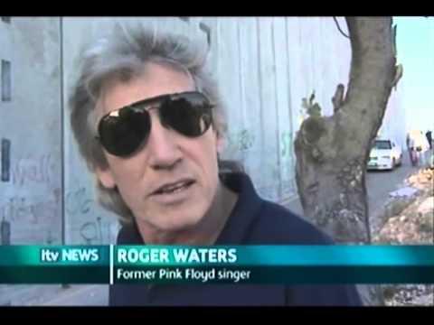 Roger Waters (Pink Floyd) ITN News Feature In Israel (2006)