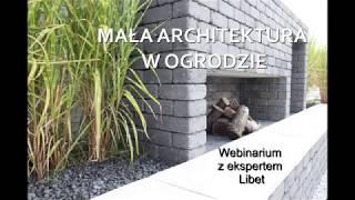 Mała architektura w ogrodzie - webinarium