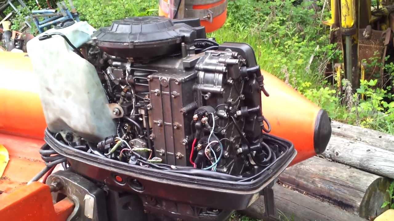 Suzuki DT65 First fire up. - YouTube