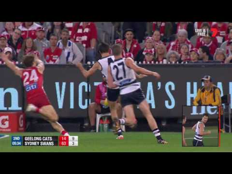 Preliminary Final AFL - Geelong Cats v Sydney Swans Highlights
