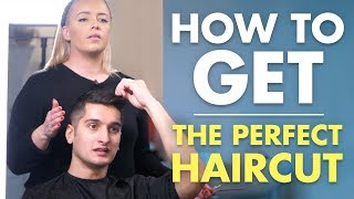 How To Get The PERFECT Haircut | Men's Short Hair Tutorial