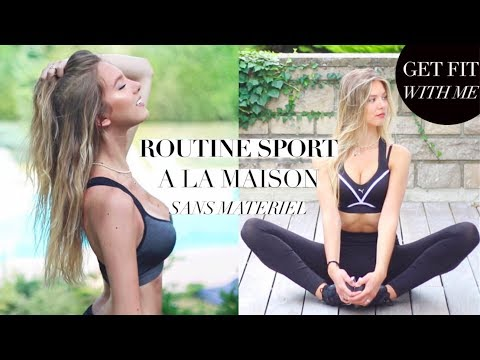 SPORT à la MAISON + PLAYLIST (Get Fit With Me #7) | SleepingBeauty