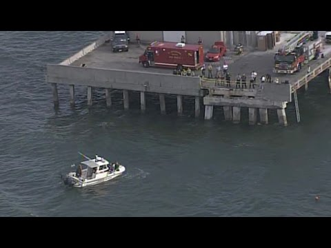 Driver dead after car speeds off sunshine skyway fishing for Sunshine skyway fishing pier