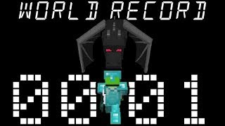 Minecraft Speedrun World Record 1.15