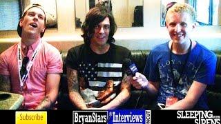 sleeping with sirens interview 4 kellin quinn uncut warped tour 2016