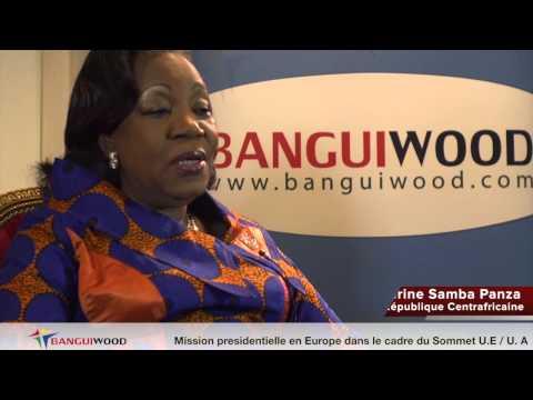 Ep31: (1ère partie) Intervention de la Présidente Catherine SAMBA-PANZA à Paris