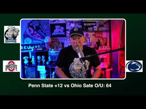 Penn State vs Ohio State Free College Football Picks and Predictions CFB Tips Saturday 10/31/20