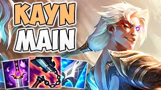 AMAZING HIGH-ELO KAYN ONE-TRICK GAMEPLAY! | CHALLENGER KAYN JUNGLE | Patch 11.19 S11