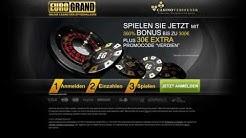 Eurogrand-Casino Bonus-Code einlösen