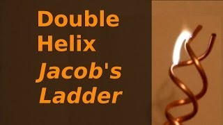 Halloween Hacks #5 - Double Helix Jacobs Ladder