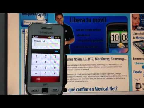 Liberar samsung s5230w v a c digo imei con movical net - Movical net liberar ...