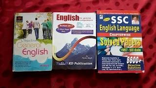 [BEST BOOKS FOR SSC]HOW TO IMPROVE ENGLISH FOR SSC (CHSL,CGL,MTS) [HINDI] 2017-1018