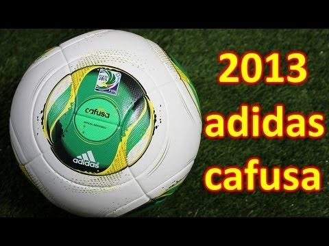 Adidas Cafusa 2013 Confederations Cup Match Ball - Unboxing