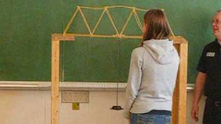 Spaghetti Bridge Competition At Camosun College
