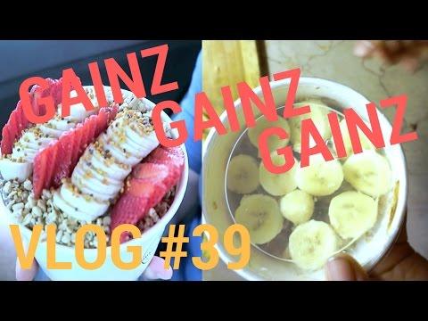 how to make a gainz bowl (vlog #39)
