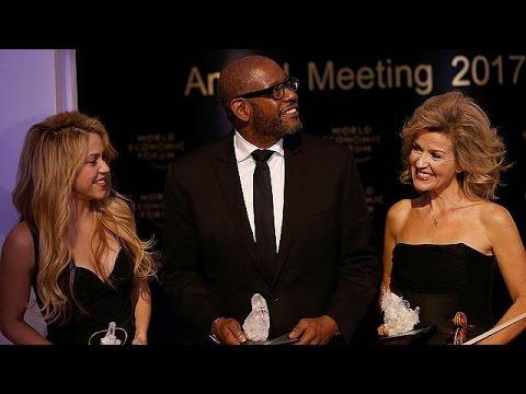 Davos Ekonomi Forumu ödül töreniyle açıldı