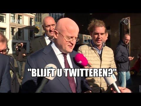 Beoogde ministers op gesprek bij Rutte