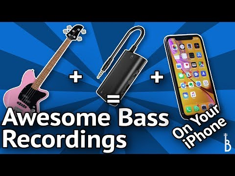 Record Bass To Your iPhone The Easy Way (Plus It's Cheap-As-Chips)