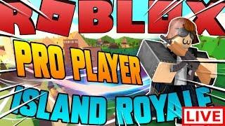 🔴Livestream : 🌴Island Royale - Battle Royale dans Roblox!🌴 😱 New Code 😃New Itemshop TOMORROW!