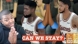 Me And Brandon Ingram Trying To Prove To Lebron James We Deserve To Be On Lakers| MY CAREER EP 1