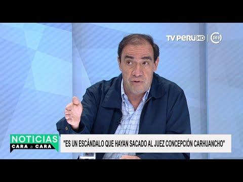 Juez Concepción Carhuancho: Lescano cuestiona recusación