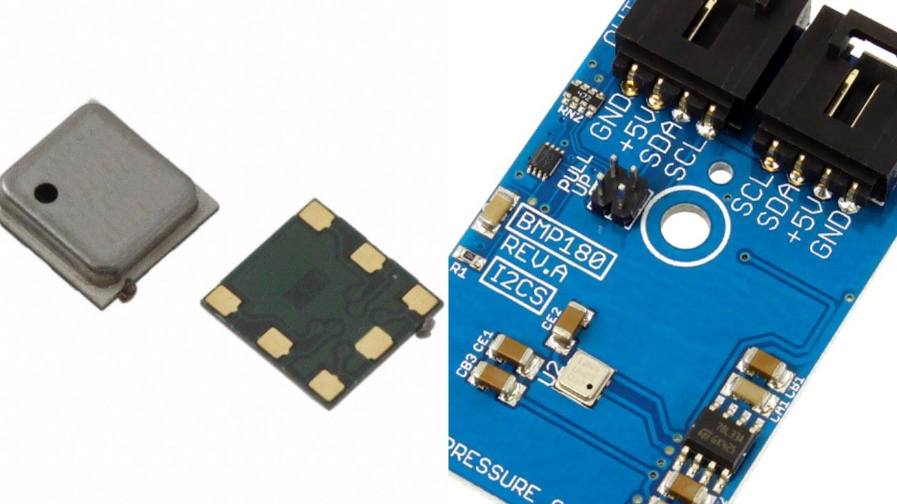 Raspberry Pi BMP180 Digital Pressure Sensor Python Tutorial
