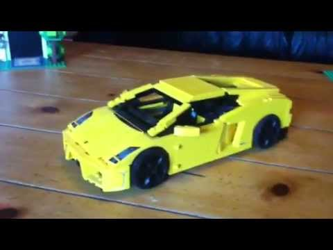 Lego Lamborghini Gallardo Lp560 4 Youtube