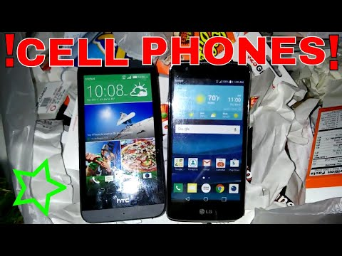 I FOUND CELL PHONES!!! Dumpster Dive Gamestop Night #311