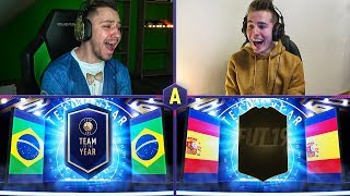 ŚWIRNIĘTY TOTY PACK AND PLAY! ADRYAN VS DEV | FIFA 19