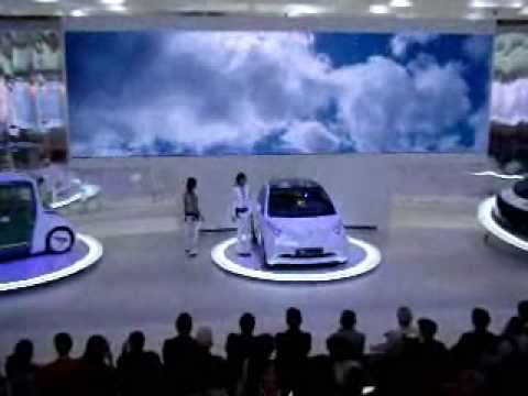 Toyota Concept Stage Tokyo Motor Show 2007 Youtube