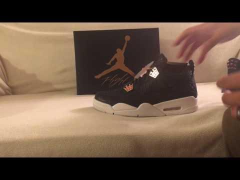 more photos 875a8 9b374 Quick Unboxing Air Jordan 4 Premium Pinnacle Obsidian SNKRS App