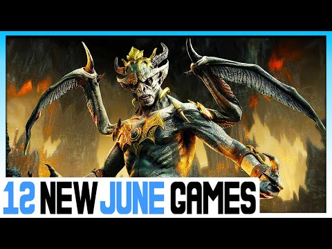 12 NEW PS4 GAMES COMING IN JUNE 2020 - BIG NEW PLAYSTATION 4 GAMES