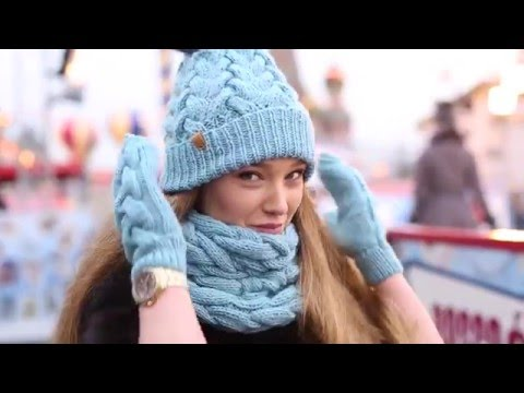 Miss Woolly Happy New Year 2016 вязаные шапки ручной работы