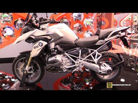 2015 BMW R1200GS Bruno Moto - Walkaround - 2014 EICMA Milan Motorcycle Exhibition