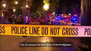 Seattle Firefighters in Danger, Bellevue's Response...