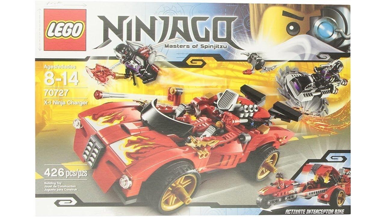 Lego Ninjago 70727 X-1 Ninja Charger - YouTube