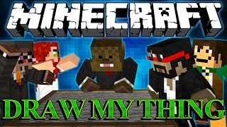 Minecraft Draw My Thing w/ CaptainSparklex, Antvenom, ChimneySwift, Aureylian, Jordan and Parker!