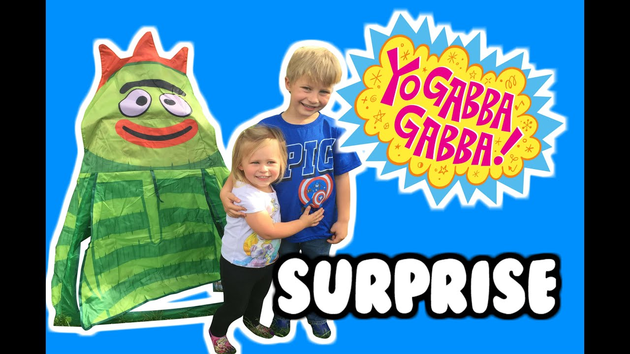YO GABBA GABBA  Surprise Tent  with Yo Gabba Gabba Nesting Dolls Yo Gabba Gabba Boom Box and More!  sc 1 st  YouTube & YO GABBA GABBA
