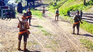 RED DEAD REDEMPTION 2 Online PVP Gameplay SHOWDOWN SERIES (Battle Royale, Free For All, TDM)