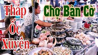 Siêu bất ngờ Hàng ốc Xuyên hơn 20 năm hút khách ở Chợ Bàn Cờ Sài Gòn  | Saigon Travel