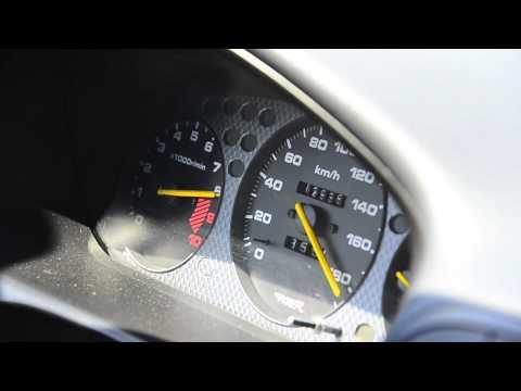 B16b civic Type R acceleration 9900 RPM