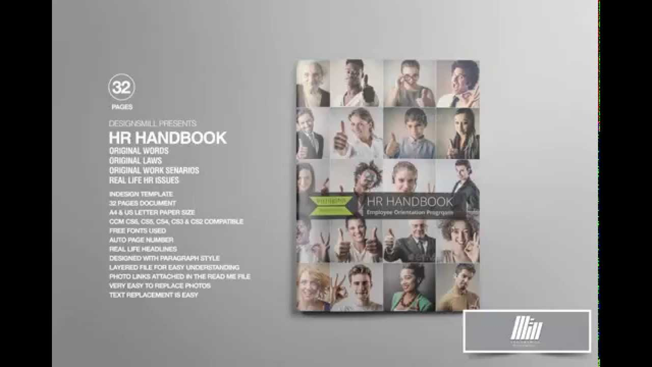 HR Handbook Or Manual For Employees YouTube - Hr employee handbook template