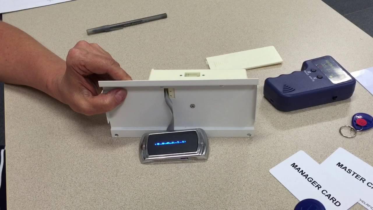 How to program RFID Lock