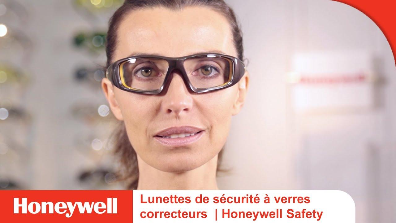 lunettes de s curit verres correcteurs honeywell safety youtube. Black Bedroom Furniture Sets. Home Design Ideas