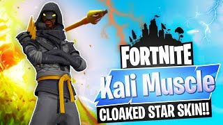 FORTNITE Battle Royale // CLOAKED STAR SKIN // 580+ WINS