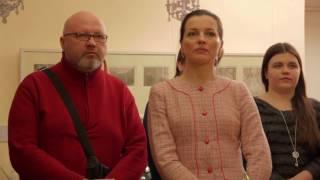 Открылась выставка «''Анна Каренина''. 120 акватинт Александра Алексеева»