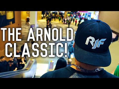 This Is What I Live For | Arnold Expo 2017 | Vlog 22