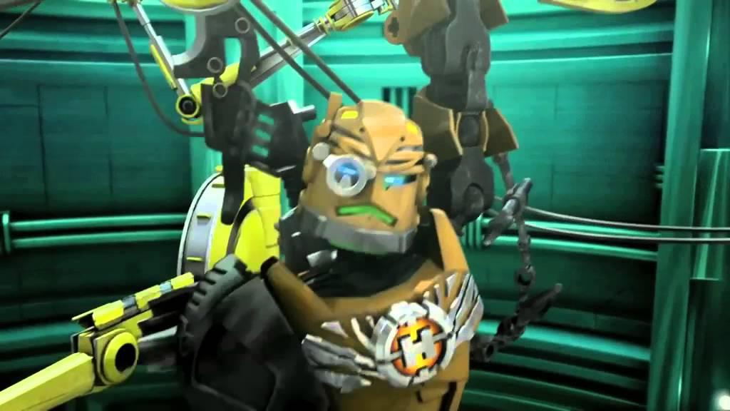 lego174 hero factory breakout rocka vs black phantom